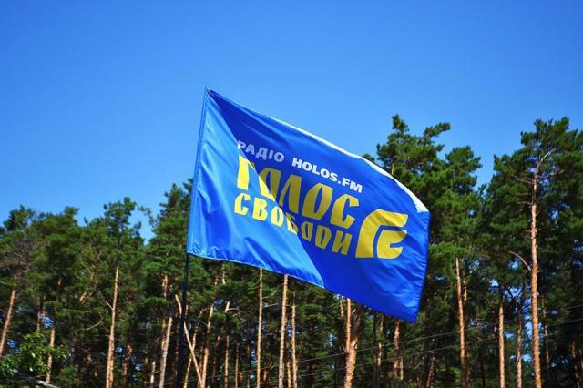 Мобільна студія Holos.fm на мистецькому хуторі Обирок, серпень 2015 року, Чернігівщина