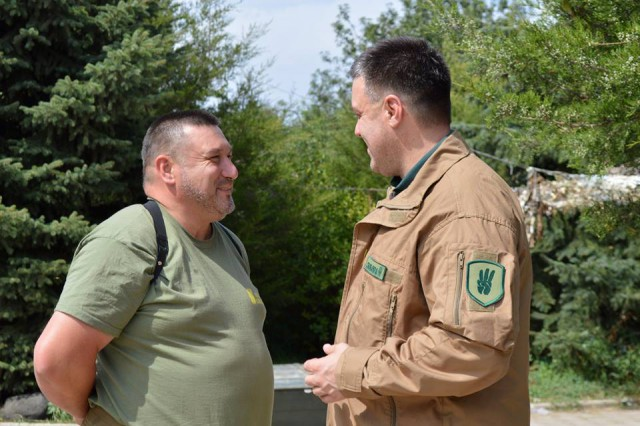 Олег Тягнибок та Олег Куцин