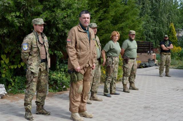 Олег Тягнибок у Карпатській Січі