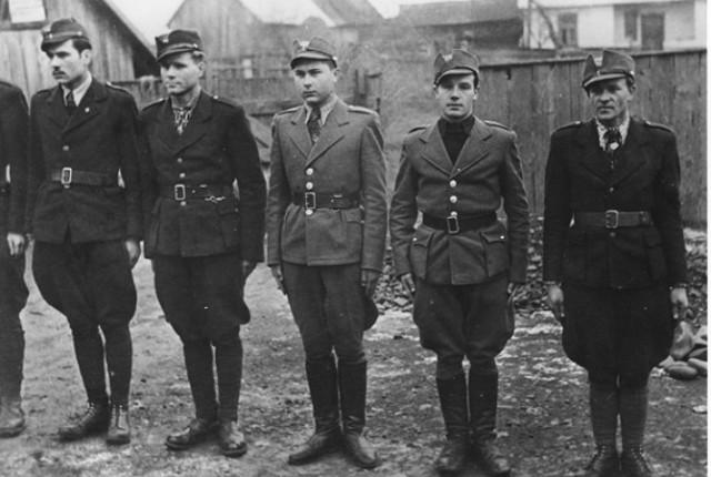 вояки Карпатської Січі
