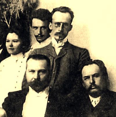 Микола Міхновський у Полтаві