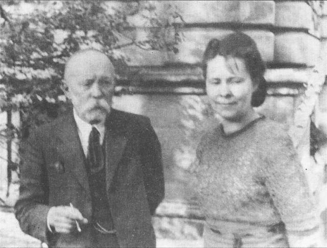 Іларіон Свенціцький з донькою