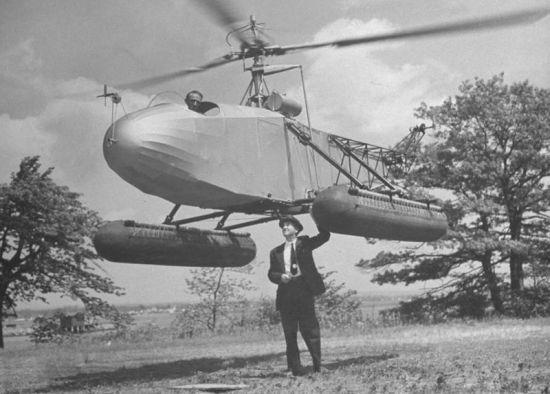 гелікоптер-амфібія