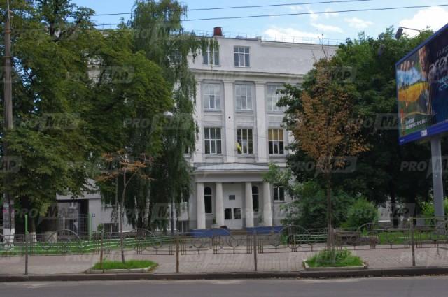 колишній будинок гімназії