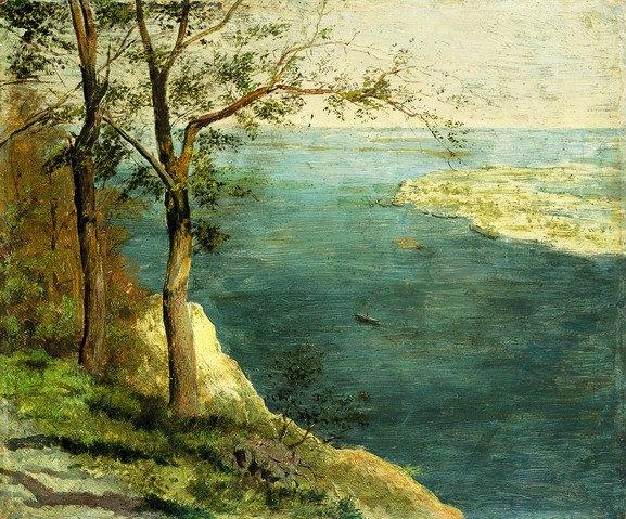 Вид на Дніпро. М.Мурашко 1890-ті