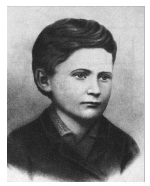 Іван Франко у дитинстві