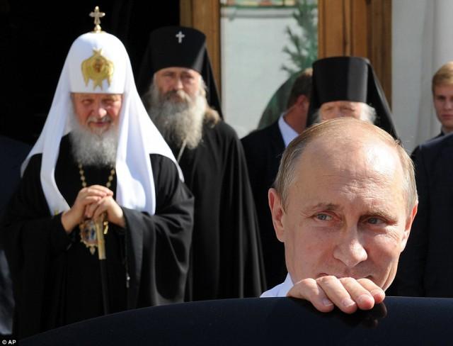 Путін і церква
