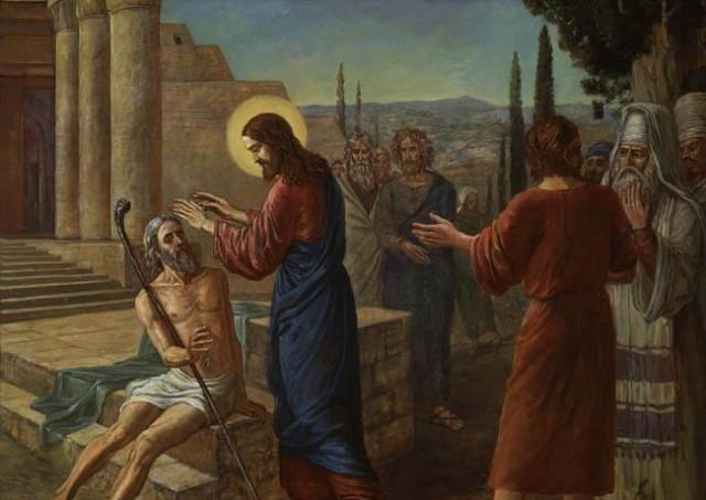 проповідь про сліпого