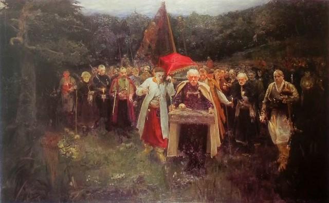Похорон кошового, Олександр Мурашко