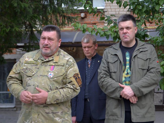 Олег Тягнибок, Олег Куцин, Ігор Швайка