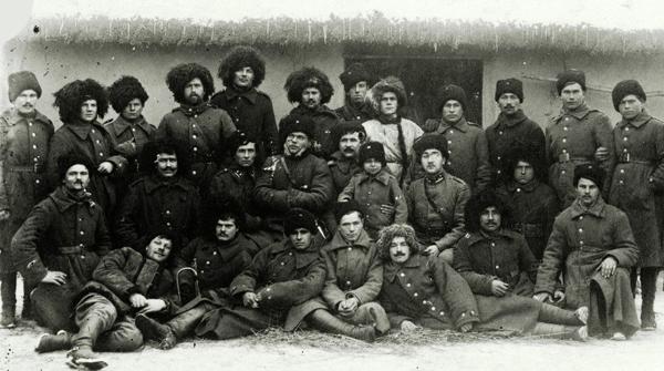 Учасники 1 зимового походу. Конвой Омеляновича-Павленка