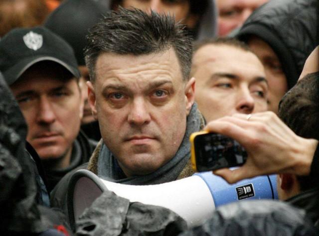 лідери опозиції на Майдані