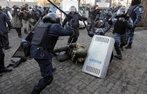 Беркут на Майдані