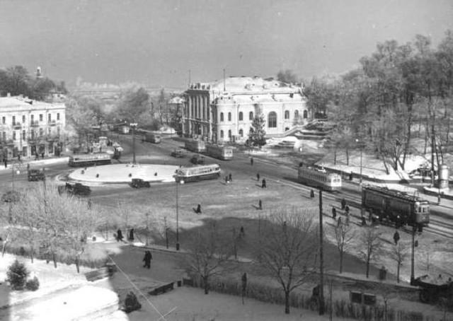 Київ, Европейська площа, 50-ті роки