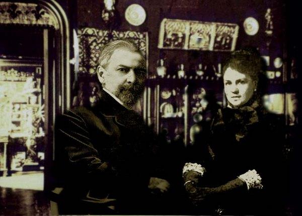 Варвара та Богдан Ханенки