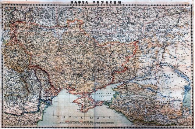 Карта України Рудницького 2018 р.